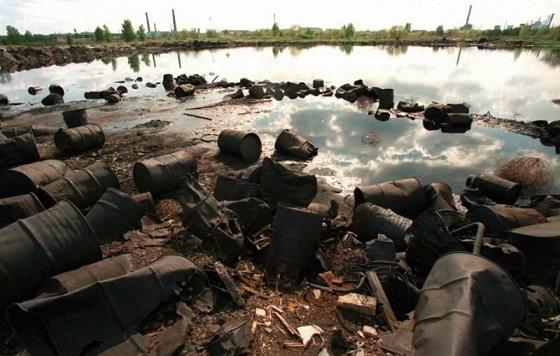 Проблема промышленности - химические отходы