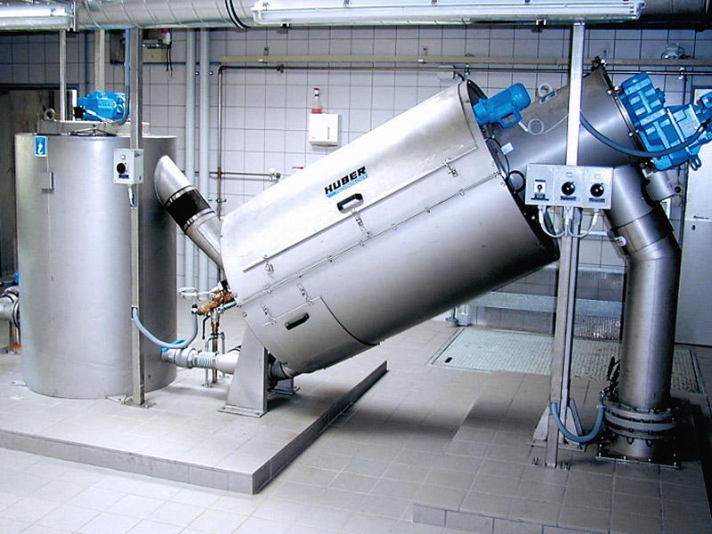 оборудование для обработки осадка