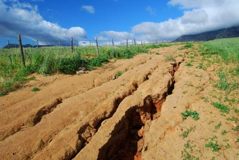 защита почв от эрозии