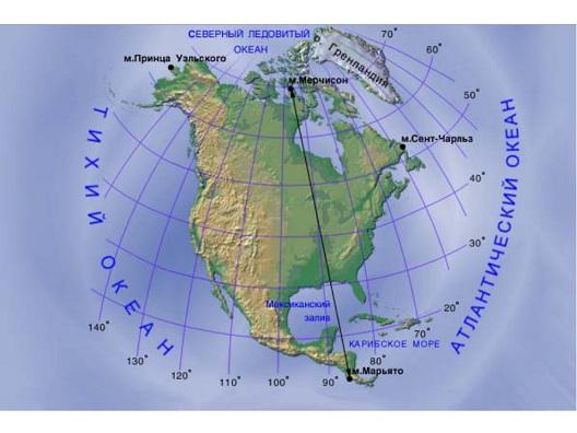 климатические пояса северной америки