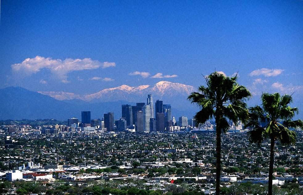 какой климат в калифорнии