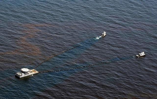 Загрязнение нефтью Южно-Китайское море