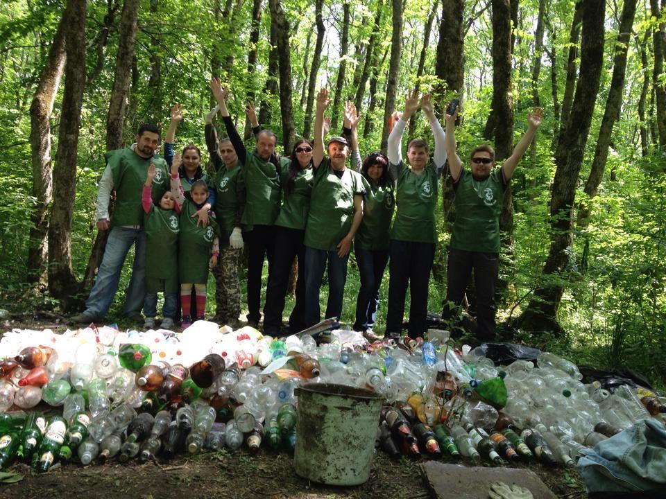 Экопикник-сбор мусора