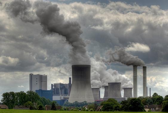 Загрязнение воздуха заводами
