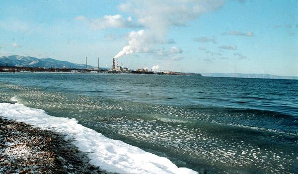 Загрязнение воздуха над озером Байкал