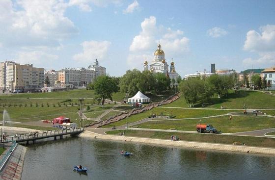 самый чистый город россии по экологии - Саранск
