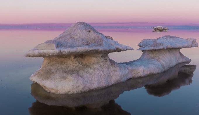 Ледник в море Лаптевых