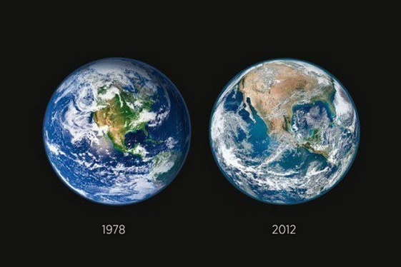 Изменение земли