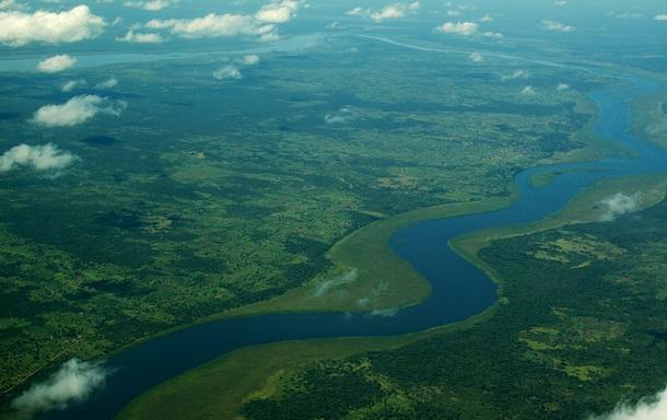 Река Нил в Африке
