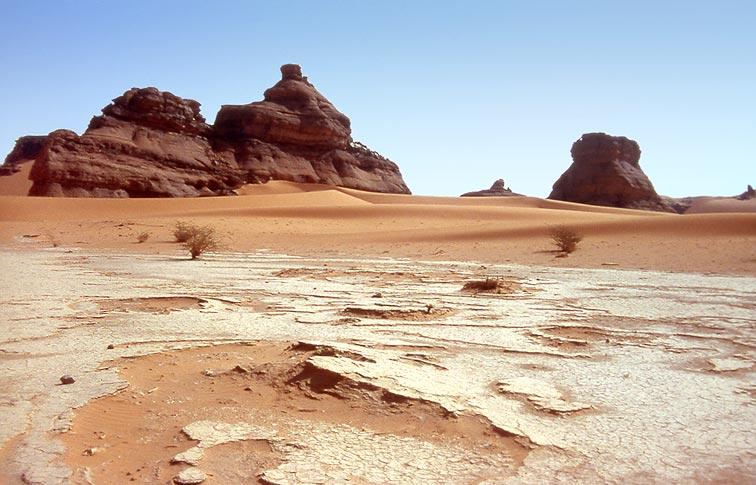 Рельеф пустыни