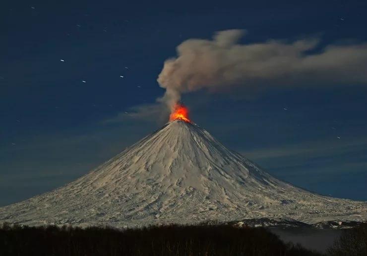 «Ключевский вулкан»