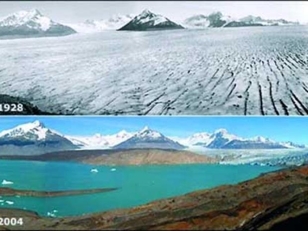 Пример глобального потепления