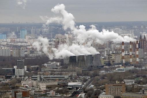 Плохая экология в Москве