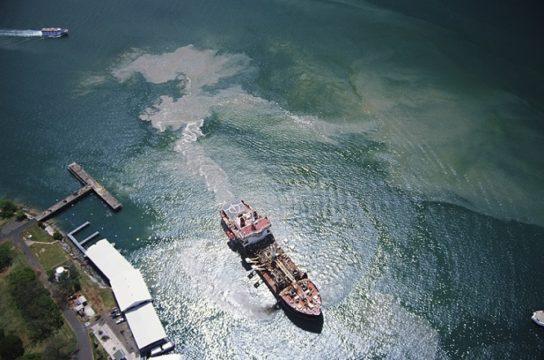 загрязнение Японского моря
