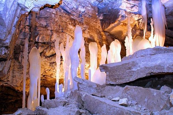 Пещера Кунгура