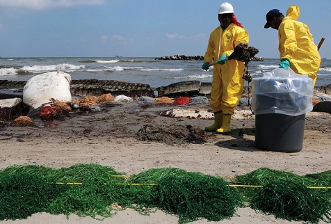 причины загрязнения морей
