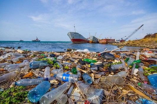 загрязнение морей пластиком
