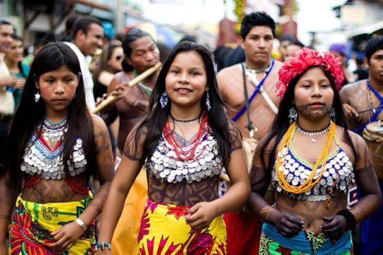 Население Южной Америки