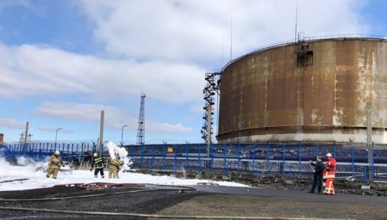 Авария на ТЭЦ-3 в Норильске