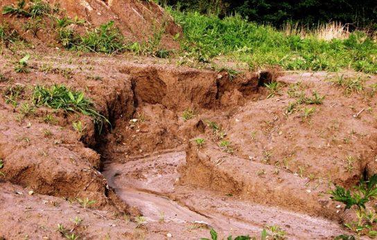 Причины водной эрозии